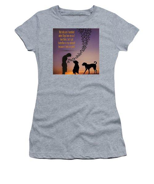 When I Get Butterflies Women's T-Shirt