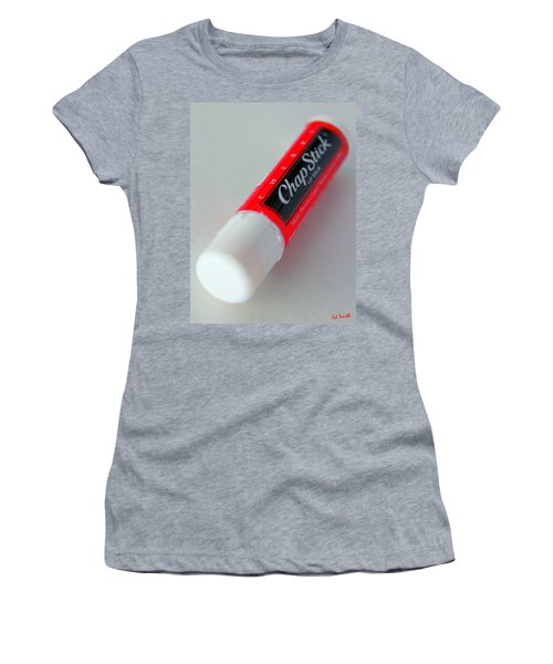 Where's The Chap Stick Women's T-Shirt (Athletic Fit)