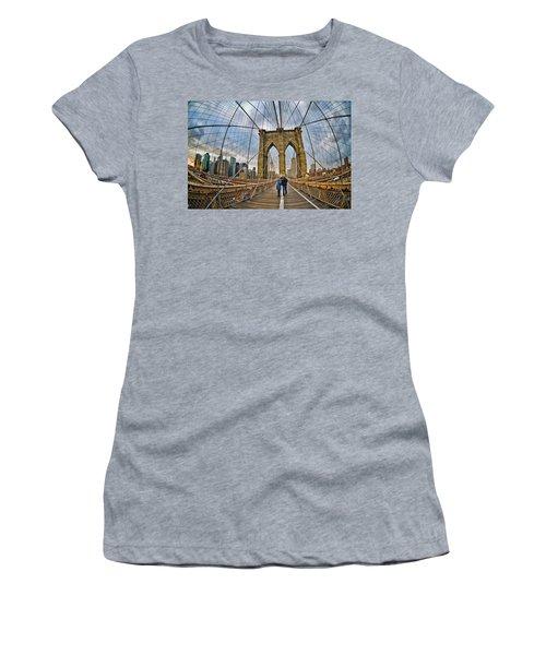 Whirled Wide Web Women's T-Shirt