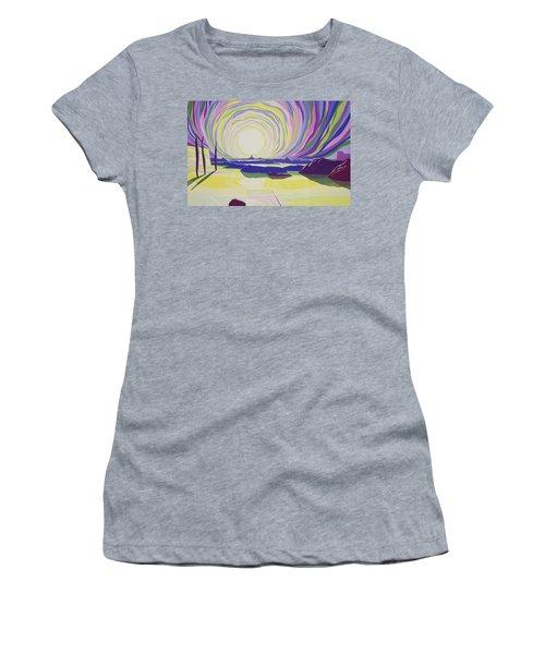 Whirling Sunrise - La Rocque Women's T-Shirt
