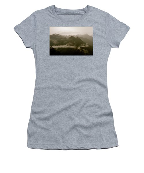 Whispers In The Andes Mountains Women's T-Shirt