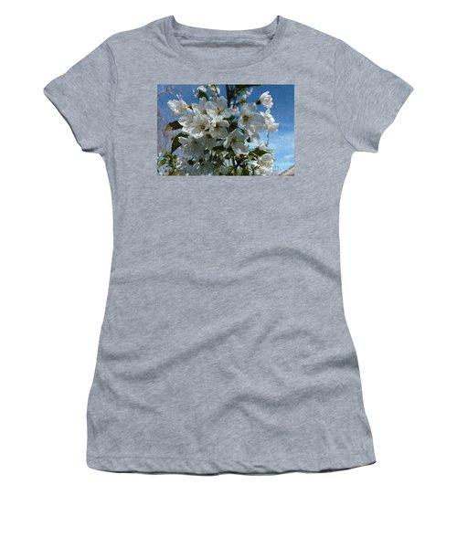 White Flowers - Variation 2 Women's T-Shirt
