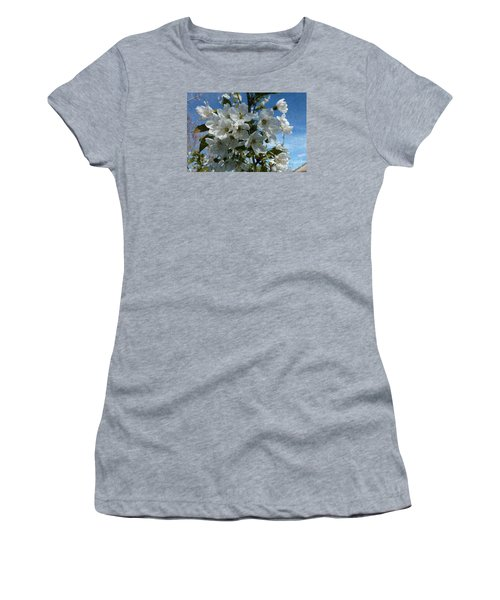 White Flowers - Variation 2 Women's T-Shirt