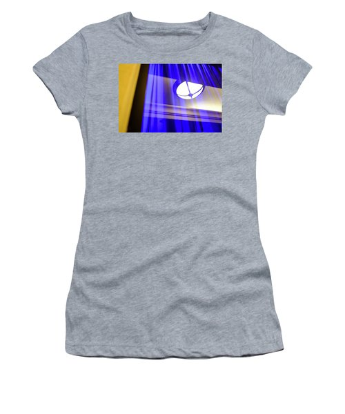 White Light With Blue And Yellow In Winter Park Florida Women's T-Shirt