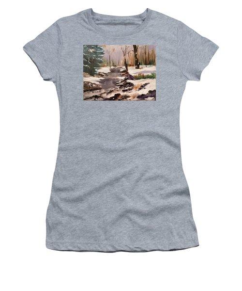 White Mountains Creek Women's T-Shirt