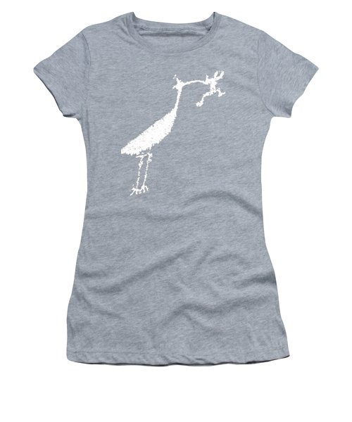 White Petroglyph Women's T-Shirt