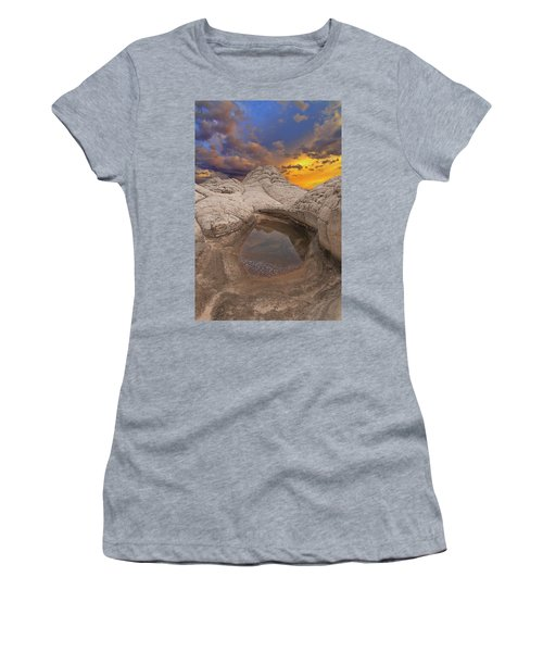 White Pocket Sunset Women's T-Shirt
