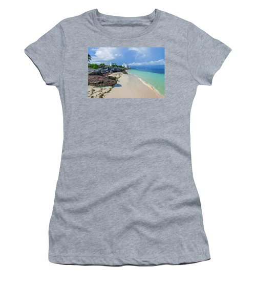 White Sandy Beach Of Cancun Women's T-Shirt