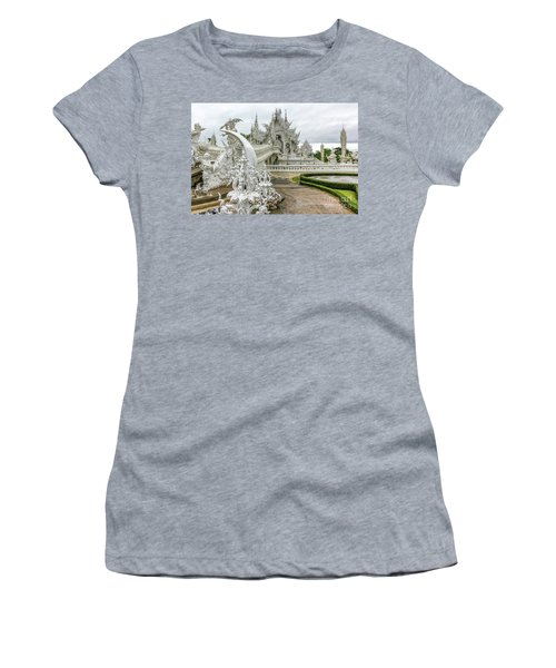 White Temple Thailand Women's T-Shirt
