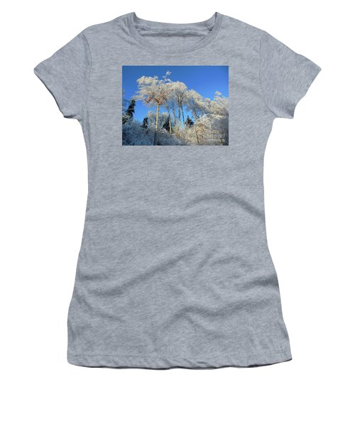 White Trees Clear Skies Women's T-Shirt