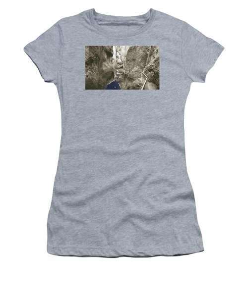 Whitewater Blu Women's T-Shirt (Junior Cut) by Jan W Faul