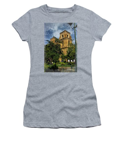 Women's T-Shirt (Junior Cut) featuring the photograph Why Do I Live Here? II by Al Bourassa