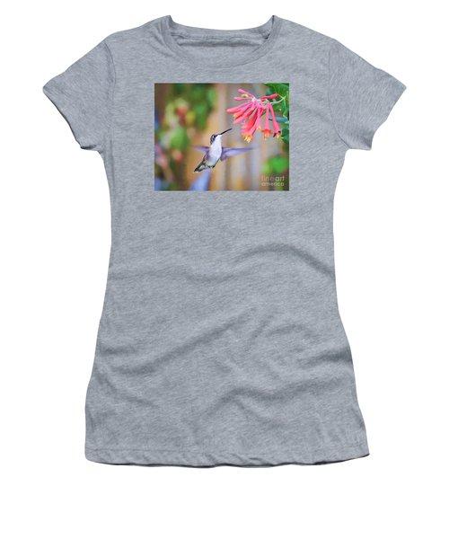 Wild Birds - Hummingbird Art Women's T-Shirt