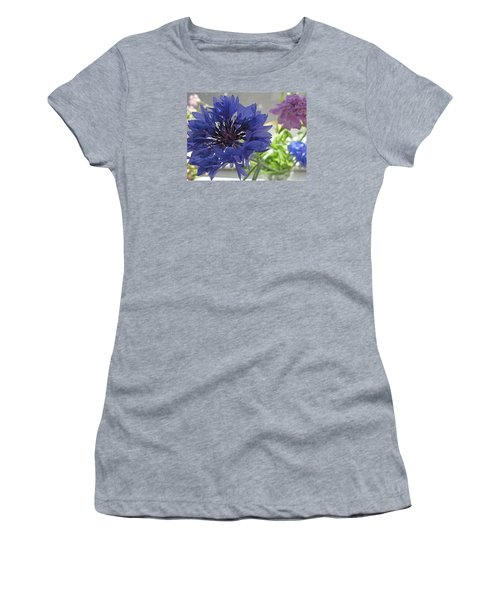 Wildflower Fluff Women's T-Shirt (Junior Cut) by Barbara McDevitt