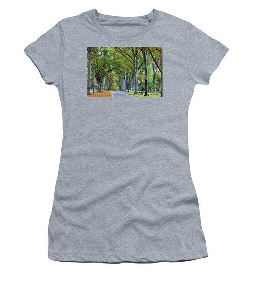 Willow Oak Trees Women's T-Shirt
