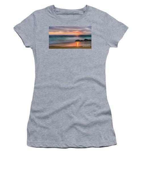 Windansea Beach At Sunset Women's T-Shirt