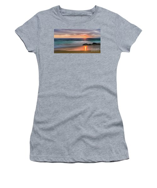 Windansea Beach At Sunset Women's T-Shirt