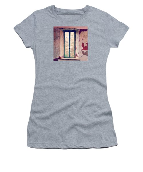 Window In Eastern State Pennitentiary Women's T-Shirt (Athletic Fit)