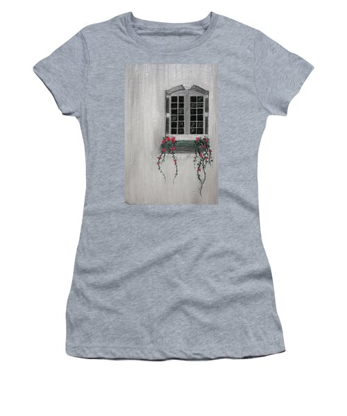Window Women's T-Shirt (Athletic Fit)