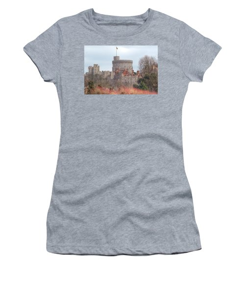 Windsor Castle Women's T-Shirt (Athletic Fit)