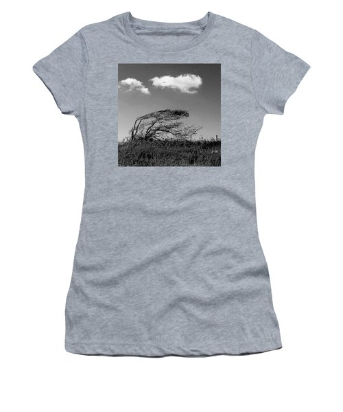 Women's T-Shirt featuring the digital art Windswept by Julian Perry