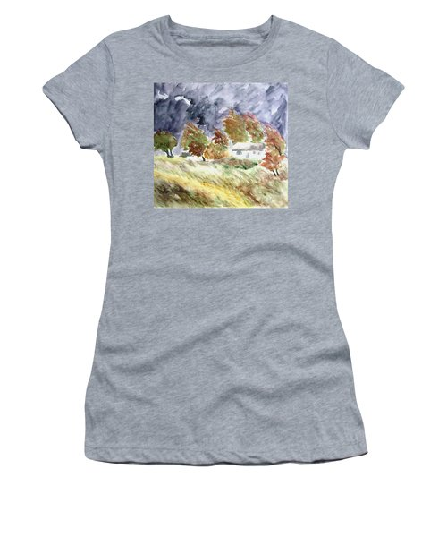 Windswept Landscape Women's T-Shirt