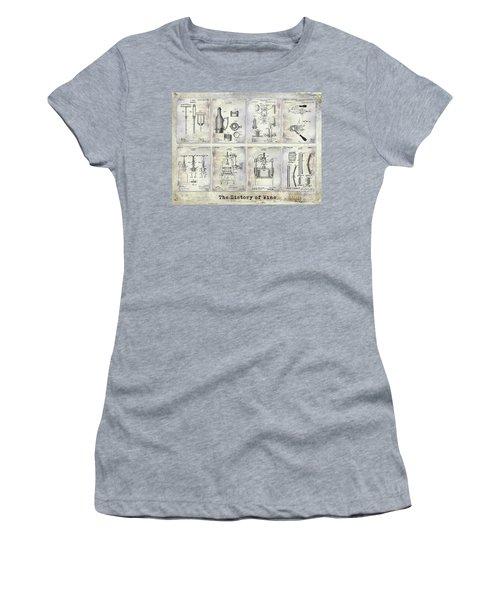 Wine History Patents Women's T-Shirt