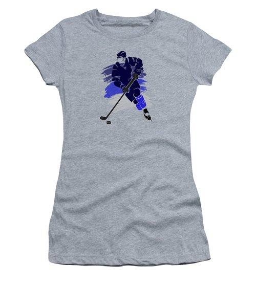 Winnipeg Jets Player Shirt Women's T-Shirt (Junior Cut) by Joe Hamilton