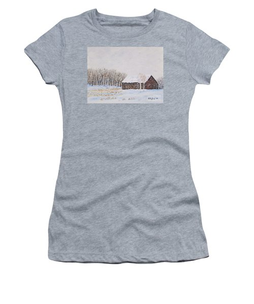 Winter Barn Women's T-Shirt (Athletic Fit)