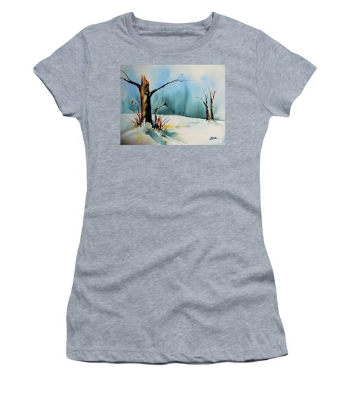 December River Women's T-Shirt (Athletic Fit)