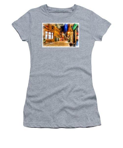 Winter Carnival Old Quebec City Lower Town Women's T-Shirt