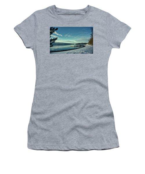 Winter Dock Women's T-Shirt (Athletic Fit)
