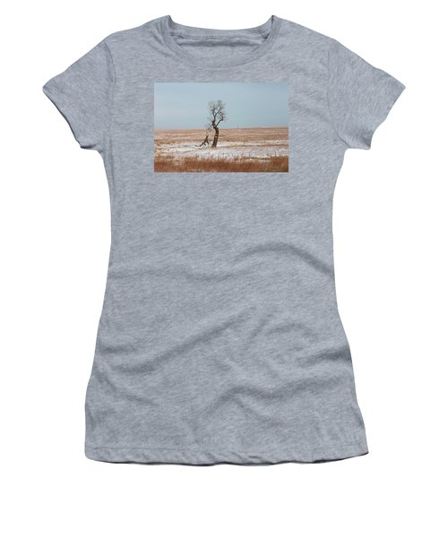 Winter In Kansas Women's T-Shirt