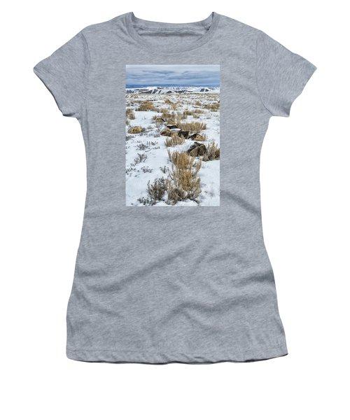 Winter Light In The High Desert Women's T-Shirt