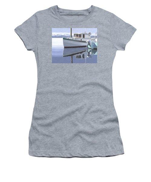 Winter Moorage Women's T-Shirt