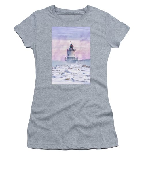 Winter Morning At Spring Point Ledge Women's T-Shirt