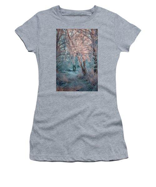 Winter Path #h1 Women's T-Shirt