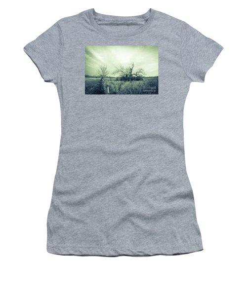 Winter Pecan Women's T-Shirt (Athletic Fit)
