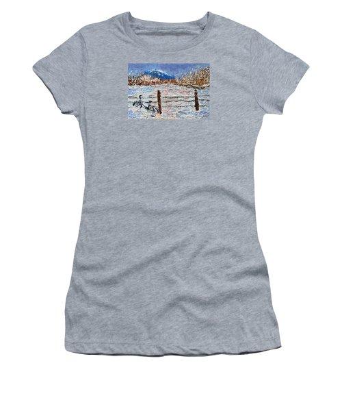 Winter Ride Women's T-Shirt