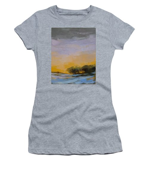 Winter Sky Women's T-Shirt (Athletic Fit)