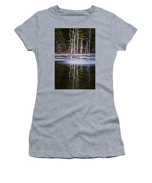 Winter Thaw Relections Women's T-Shirt (Athletic Fit)