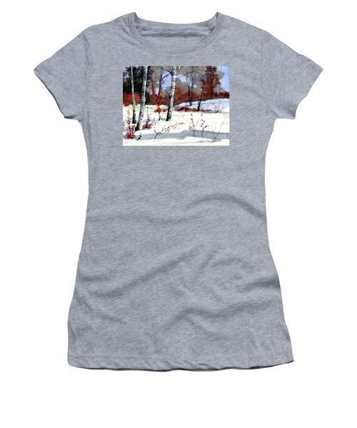 Wintertime Painting Women's T-Shirt