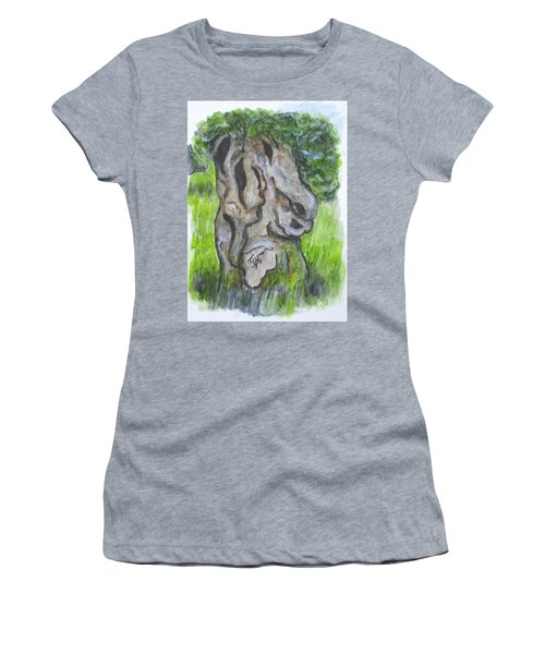 Wisdom Olive Tree Women's T-Shirt (Athletic Fit)