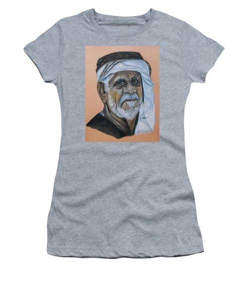 Wisdom Portrait Women's T-Shirt (Athletic Fit)