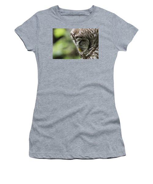Wise 'ol Owl Women's T-Shirt (Athletic Fit)