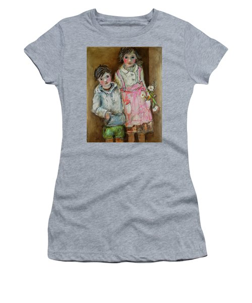 Wishes On A Daisy Women's T-Shirt (Junior Cut) by Sharon Furner