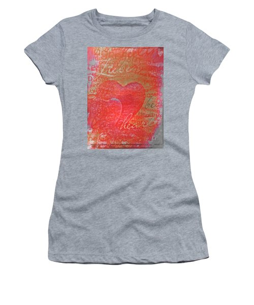 With Heart Women's T-Shirt