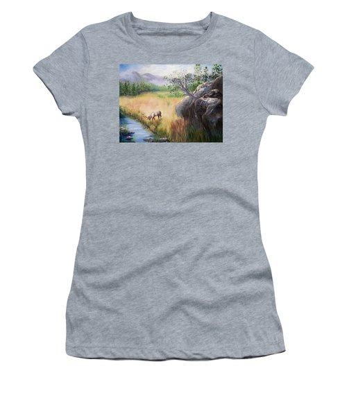 Within Yellowstone Women's T-Shirt (Junior Cut)
