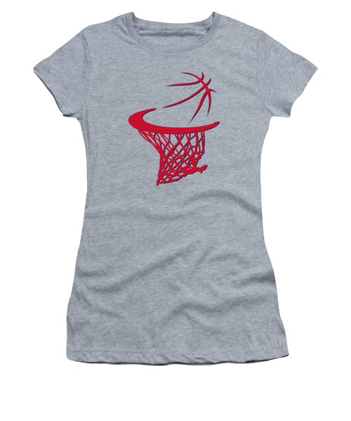 Wizards Basketball Hoop Women's T-Shirt (Athletic Fit)