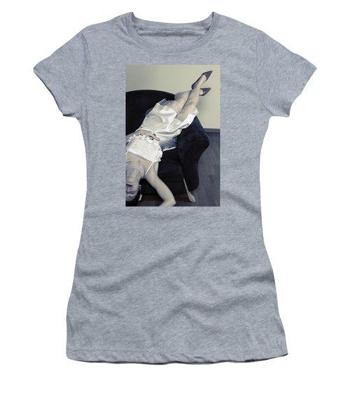 Woman Lying On Chair Women's T-Shirt